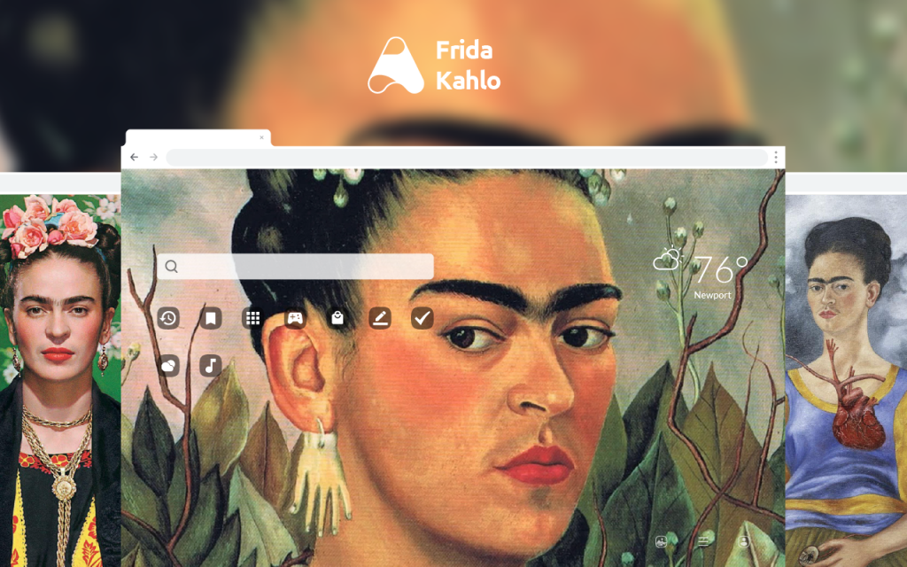 Frida Kahlo HD Wallpapers New Tab