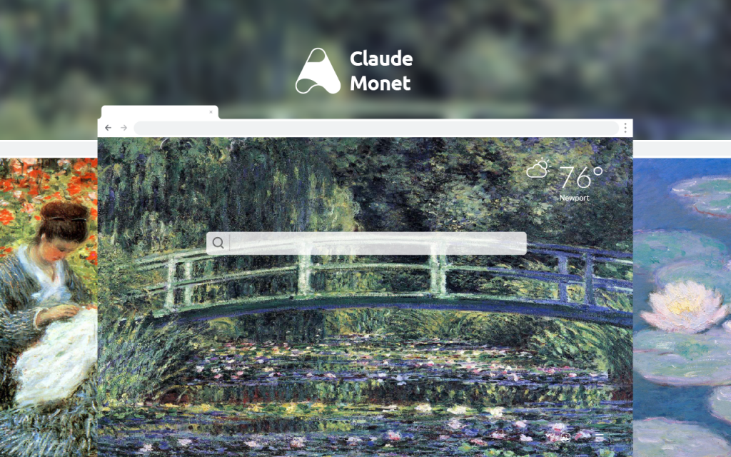 Claude Monet HD Wallpapers New Tab