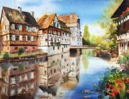 watercolor paintings'