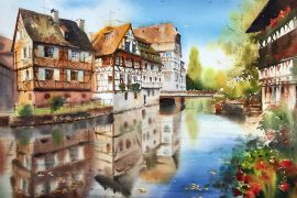 watercolor paintings'