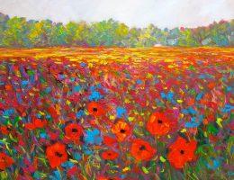 wild flowers paintings