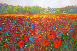 wild flowers paintings