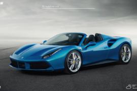 Ferrari Spider supercars