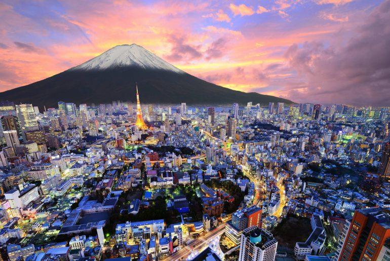 Tokyo the capital city of japan