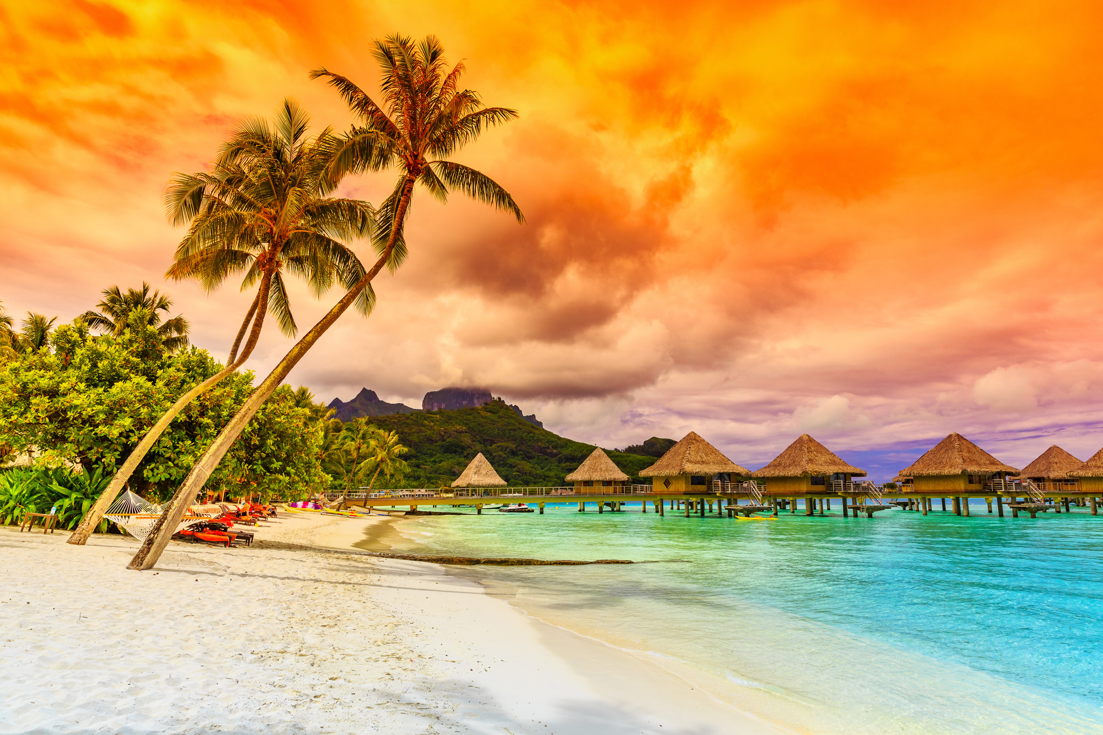 Tropical Islands HD Wallpaper New Tab Theme